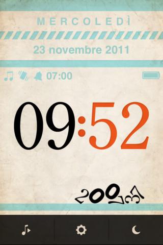 sve3 Una sveglia internazionale con motore fisico nel tuo iPhone