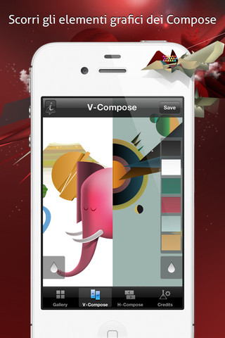 wallart Wall Art, la nuova App di wallpaper firmata da Chris Van Gard