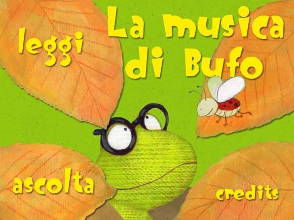 Lamusicadibufo screenshot01 580x435 La musica di Bufo, Libro per bambini dai 3 anni in su per iPad