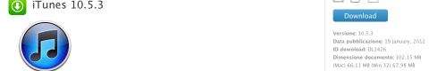 Schermata 01 2455946 alle 17.26.49 580x118 Apple ha rilasciato iTunes 10.5.3