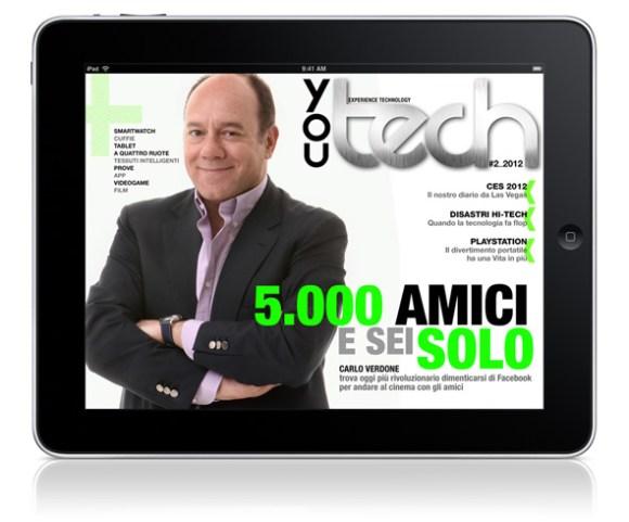 You Tech n. 2 2012 580x481 E uscito il nuovo numero di You Tech Magazine per iPad