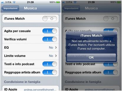 iTunes Match ITA iPhone 414x309 Apple rilascia iOS 5.1 beta 3 agli sviluppatori