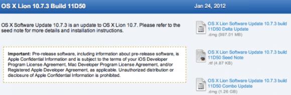screen shot 2012 01 24 at 7 32 53 pm 580x190 Apple rilascia OS X 10.7.3 Lion Buil 11D50 agli sviluppatori