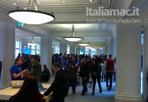 5 Linaugurazione del nuovo Apple Store ad Amsterdam, il reportage di Italiamac