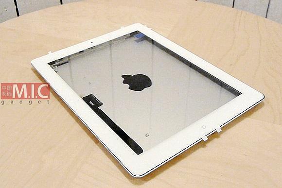 Immagine 03 2455992 alle 09.48.35 Video: Il blog asiatico Mic Gadget monta un telaio delliPad 3.