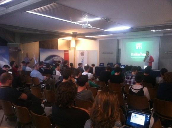 ItaliamacMeetUpPordenone 13 580x433 Un successo il MACday e Italiamac Meet Up 2012 a Pordenone