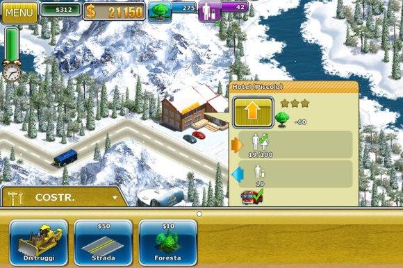 Virtual City 2 b 580x386 Diamo uno sguardo al gioco per iOS Virtual City 2: Paradise Resort