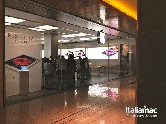apple store roma 1 580x435 Gita allApple Store Porta di Roma, le foto di un lettore