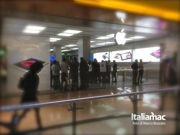 apple store roma 3 580x435 Gita allApple Store Porta di Roma, le foto di un lettore