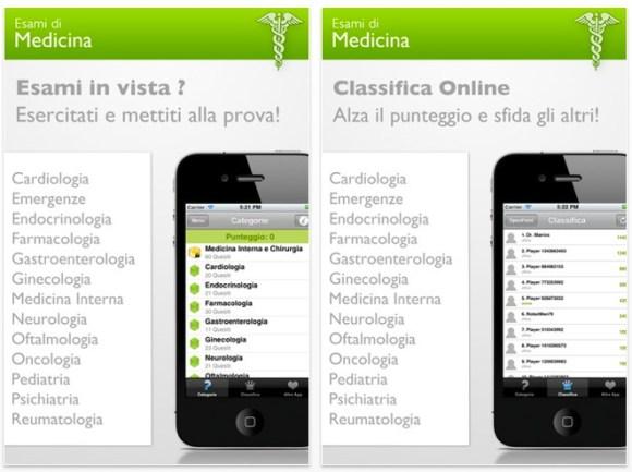 esami di medicina 580x433 Esami di Medicina per iPhone e iPad