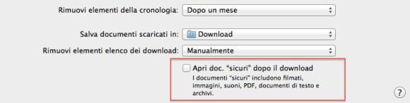 safari download sicuri 580x146 Consigli Utili per mantenere efficiente il Vostro Mac.