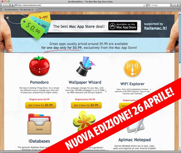 zero99aprile 26 aprile 9 App per Mac super ribassate a € 0,79 in collaborazione con Italiamac