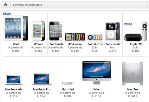 Apple store online 580x397 Negozi online: Amazon batte Apple