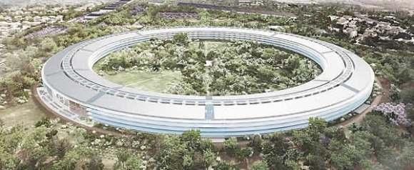 apple campus cover 580x238 Apple aggiorna i progetti dellApple Campus 2