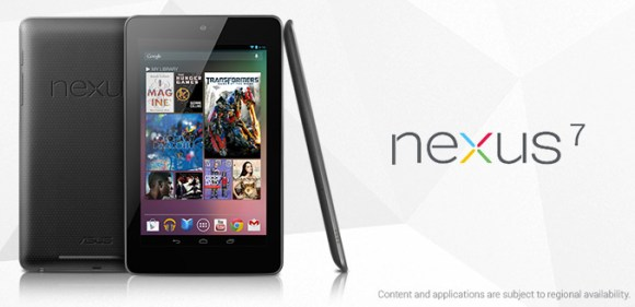 nexus7 120628 580x281 Brian White: Apple può stare tranquilla, il Google Nexus 7 è solo un altro tablet Android