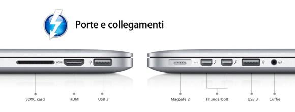 porte macbook pro 580x220 Nuovo MacBook Pro con Retina Display: caratteristiche e prezzi