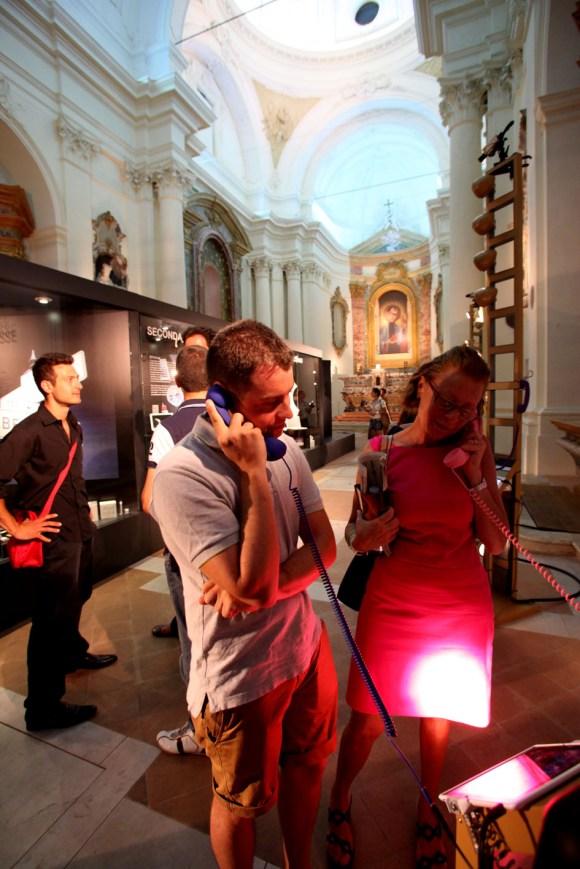 """Luigi Gasparroni 0364 580x869 Inaugurata """"Il Vangelo secondo Steve Jobs"""" a Civitanova Marche, ecco qualche foto"""