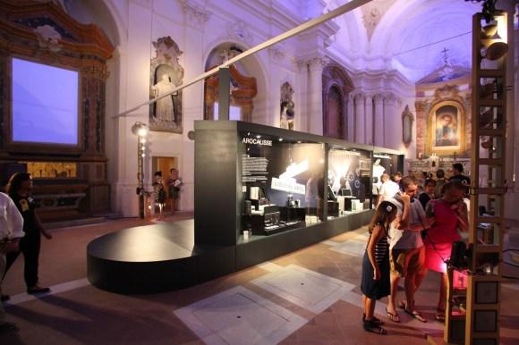 """Luigi Gasparroni 0365 580x386 Inaugurata """"Il Vangelo secondo Steve Jobs"""" a Civitanova Marche, ecco qualche foto"""