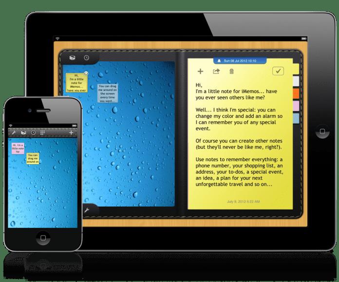 iMemos - note per iPhone e iPad