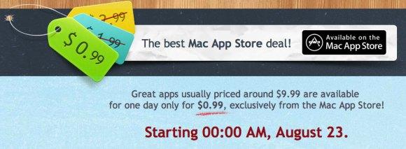 Zero Ninetynine 580x213 Ritorna la più pazza promozione 24 ore per gli utenti Mac
