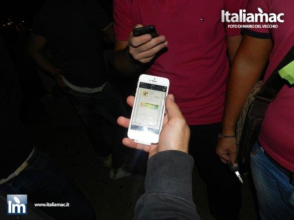 DSCN2258 580x435 Uno dei primi iPhone 5 del Centro TIM nella penisola sorrentina, le foto del nostro inviato