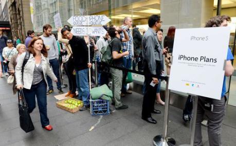 iphone5 mappe sydney tokyo 21092012 iPhone 5 Day, ci sono tutti, dai giornali ai tg, dai blog ai magazine