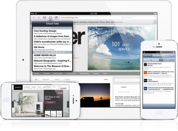 safari 580x428 Meno di una settimana ad iOS 6: Ecco come sarà!