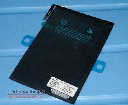 iPad Mini Battery 1 ETrade Supply pubblica presunte foto dello schermo di iPad mini