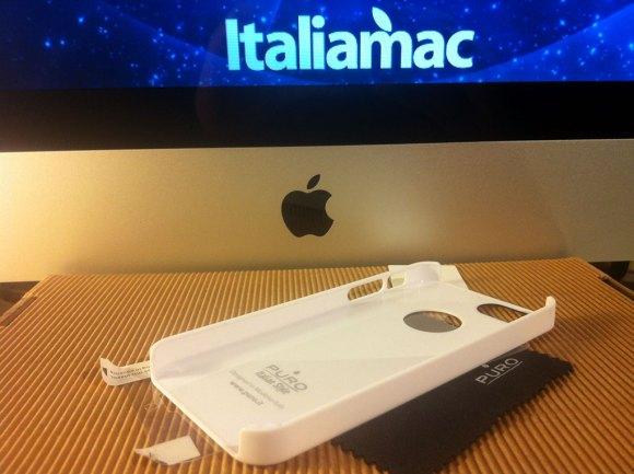purosoftcoverbianca01 580x433 Cover iPhone 5 di Puro: Abbiamo provato la Clear e la Soft