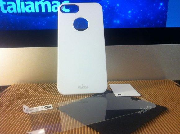 purosoftcoverbianca02 580x433 Cover iPhone 5 di Puro: Abbiamo provato la Clear e la Soft