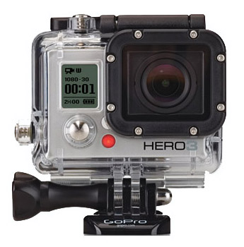 web gopro hero 3 silver Tocca con mano la GoPro Hero 3 Silver alla fiera SKIPASS 2012