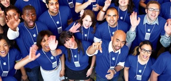 Apple Employees 580x275 Il servizio clienti Apple va peggiorando sempre di più?