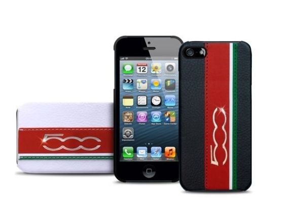 Puro FIAT 500 iPhone 5 580x415 Arrivano le nuove cover Puro per iPhone 5