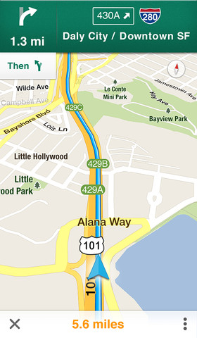 b320x480 75 Le mappe di Google tornano su iOS, con una app dedicata