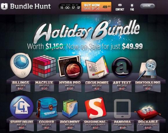 bundlehunt 580x458 Bundle Hunt, il bundle per Mac con oltre 1.000 dollari di risparmio. Ultimi giorni.