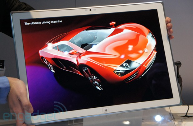 Miglior Tablet Panasonic 4K da 20 pollici Lista dei migliori prodotti presentati al CES 2013 di Las Vegas secondo Engadget