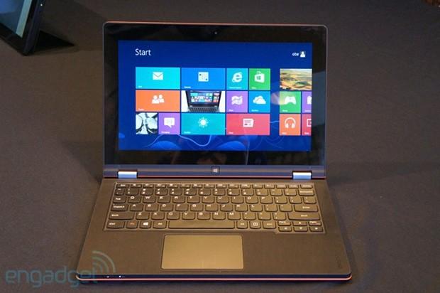 Miglior laptop Lenovo Yoga 11S Lista dei migliori prodotti presentati al CES 2013 di Las Vegas secondo Engadget