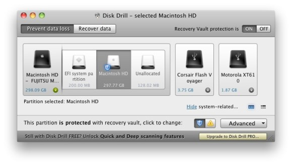 dd rv protected 580x329 Con Disk Drill puoi recuperare i file cancellati da tutti i supporti interni ed esterni e proteggere i tuoi documenti