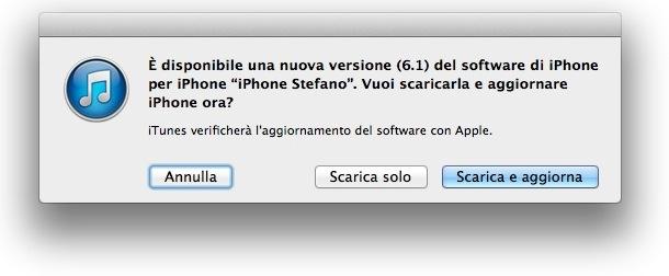 iOS 6 1 Rilasciato iOS 6.1 con supporto alle reti LTE