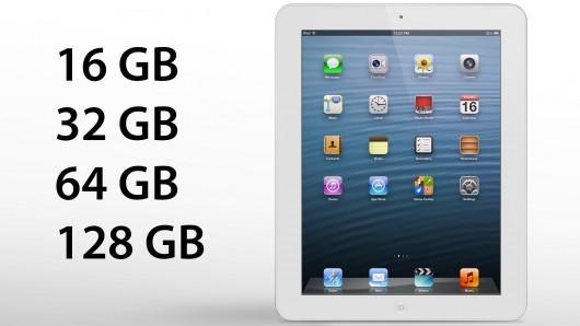iPad 4 128GB Ecco le prime foto delliPad 5, nel frattempo però uscirà liPad 4 da 128 GB