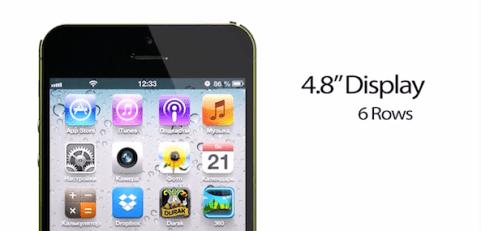 iPhone 4.8 inches Tutti i rumor ora sono per liPhone Math!