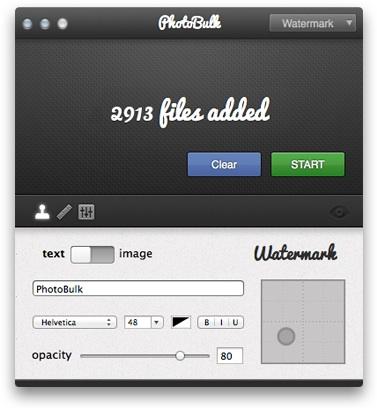 photobulk 3 Ridimensiona, ottimizza e metti il watermark alle tue foto con PhotoBulk