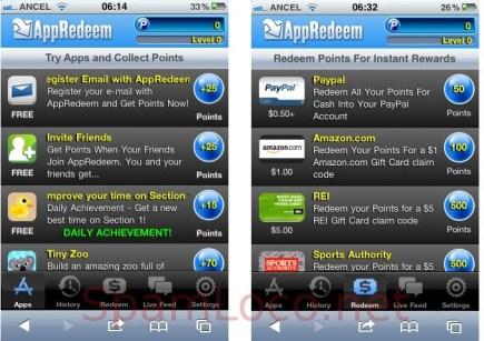 appredeem Guadagnare scaricando app? E possibile.. Con iOS (e Android)