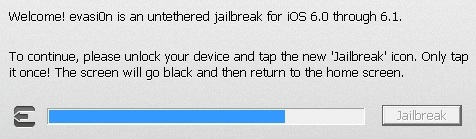 jb2 Guida definitiva al Jailbreak untethered di iOS 6.x con evasi0n