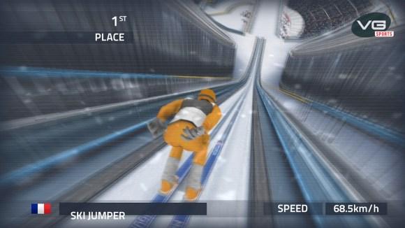 %name Con Ski Jumping Pro ti butti dai trampolini innevati più famosi del mondo. In 3D su iOS