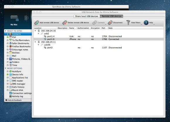 ios device over network 580x416 USB Network Gate per Mac, condividi in rete i dispositivi USB con altri computer