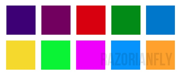 I colori del logo del WWDC 2013