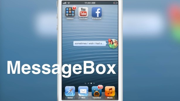 MessageBox Chat Heads Chat Heads di Facebook in primo piano su iOS: Disponibile ora il Tweak di Cydia