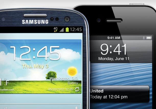 galaxys3 vs iphone5 Come utilizzano lo smartphone gli utenti Android e iOS? Scopriamolo in questa indagine!
