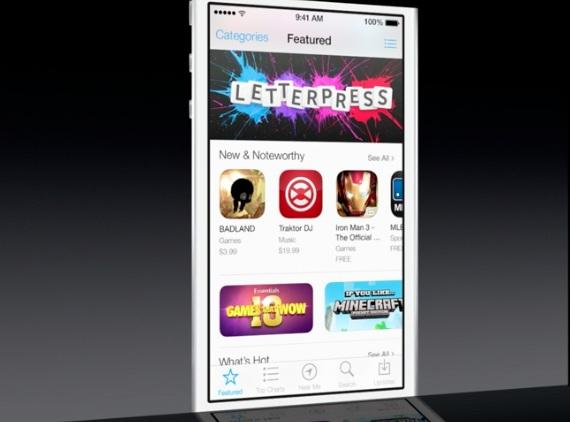 App Store in iOS 7